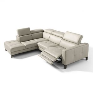 Mobili Domani Matrix Electric Recliner Leather Sofa Collection