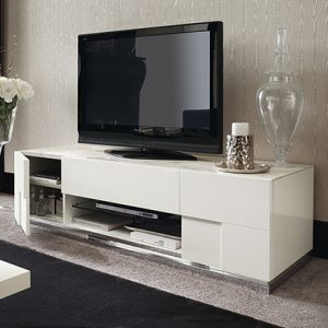 Mobili Domani Ocean TV Unit, 2 Doors And 1 Drawer