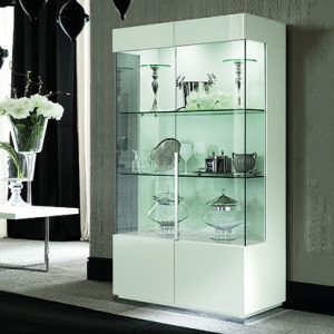 Mobili Domani Ccean Double Glazed Display Cabinet
