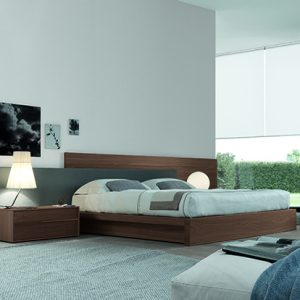 Mobili Domani MyLove Bed With Wooden Frame
