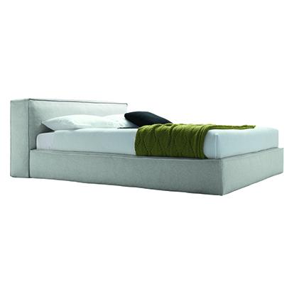 Mobili Domani Mark Upholstered Continental Kingsize Bed