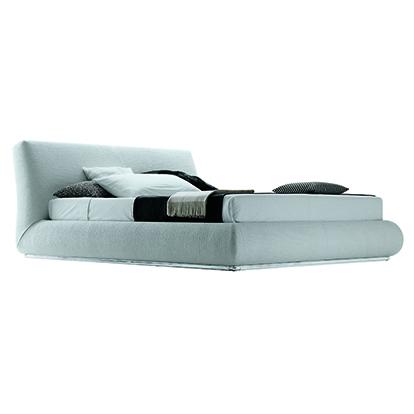 Mobili Domani Baldo Upholstered Continental Kingsize Bed