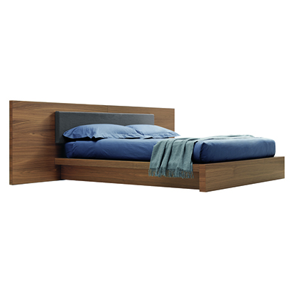 Mobili Domani Ala Continental Kingsize Bed With Footboard