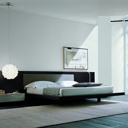 Mobili Domani Ala Continental Kingsize Bed With F Frame