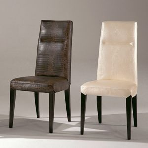 Mobili Domani Stardust Leather Dining Chair