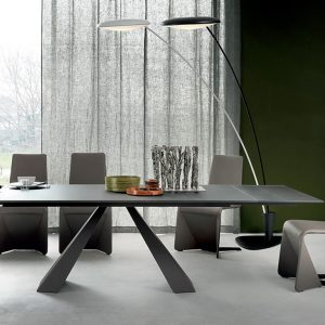 Cattelan Italia Eliot Drive Glass Dining Table, by Giorgio Catte