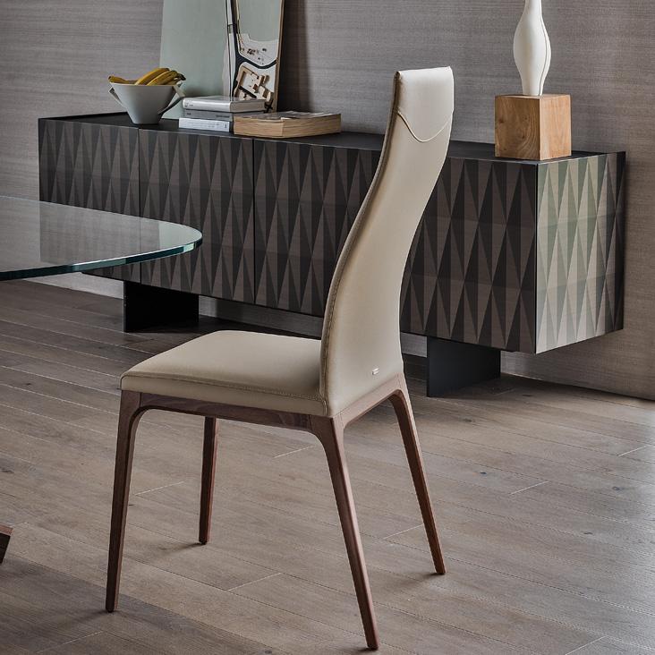 Cattelan Italia Arcadia Dining Chair By Pao Cattelan